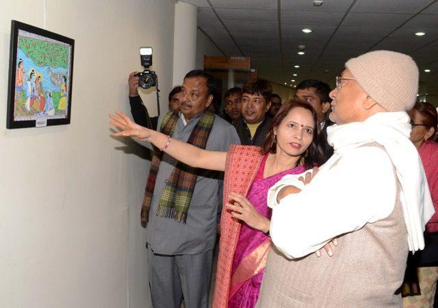 Budding Bihar artist adds new twist to Mithila paintings