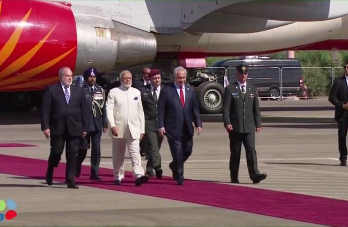 Indian PM Modi visit to Israel to give a new boost to bilateral ties