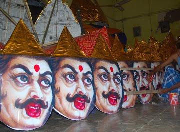 Muslim artisans add new taste to demon king Ravana effigy in Patna