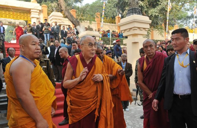 Thousands of Buddhist devotees land in Bodh Gaya to attend holy Kalchakra puja