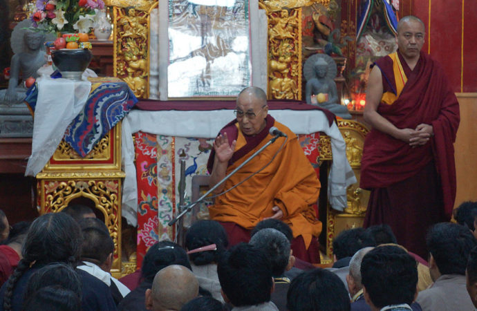 'You are source of inspiration to Tibetans in exile,' Dalai Lama tells pilgrims