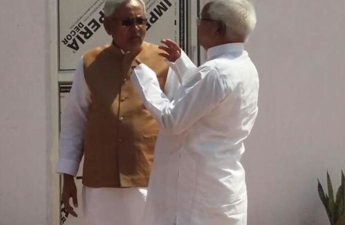 Secular unity or…else? Lalu pays sudden visit to Nitish amid reports of differences