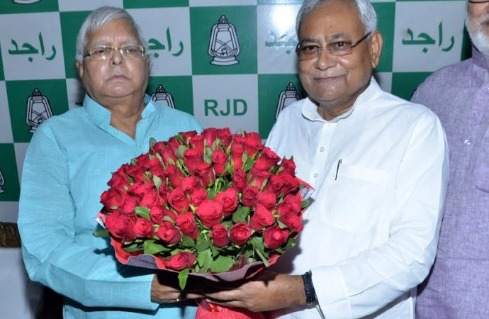 Lalu heaped with happy moments, rare gifts on his 70th birthday