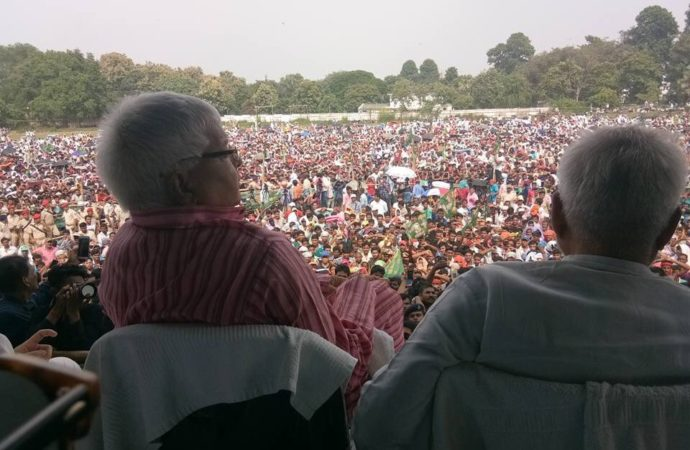 'Nitish joined hands with BJP to save himself from being arrested,' says Lalu