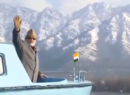Is he waving to the fishes? Twitter trolls video of PM Modi in Srinagar
