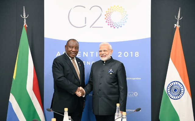 Modi invites South African President as RD chief guest after Trump refuses