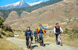 Salman Khan enjoys cycling with Kiren Rijiju in scenic Arunachal Pradesh