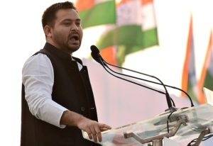 Congress best-equipped to lead anti-BJP alliance, Tejashwi Yadav says