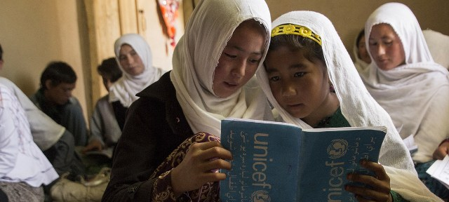 Half of Afghan children out of school due to conflict, poverty: UNICEF