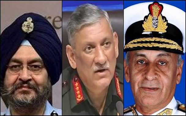 India-Pakistan tension: All three chiefs of Indian armed forces to get Z-plus security
