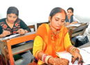 Bride rushes straight to exam centre from Shadi mandap after wedding