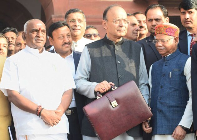 Jaitley presents 'election-bound' budget with revolutionary healthcare scheme for poor