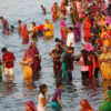 Millions arrive in Bihar's Deo to offer prayers to Sun during Chhath