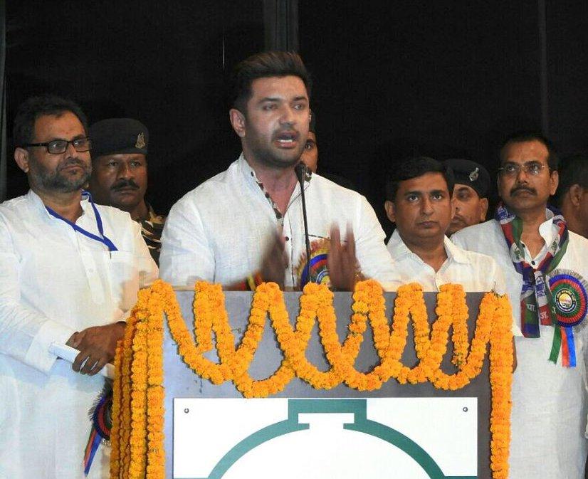 LJP, Chirag Paswan, NDA, BIhar, Nitish Kumar, Bihar polls, BIhar, Bihar News