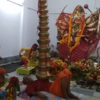 Video: See how this Patna devotee keeps 21 pots on his chest for 9 days to please the deity