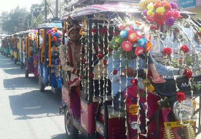 Grooms in India's Bihar state go all out to save environment