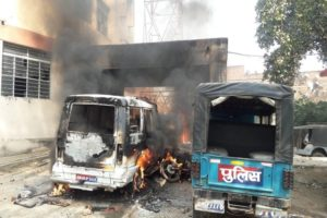 Mob raids police station, torches vehicles in Bihar after murder of Dalit girl