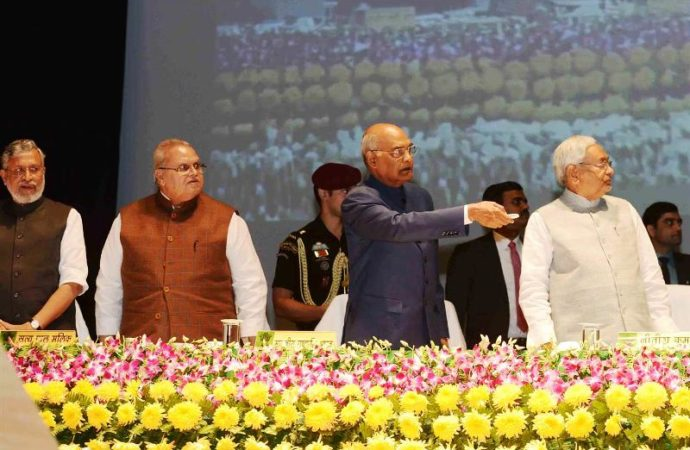 President Kovind launches third agricultural road map of Bihar, gets emotional