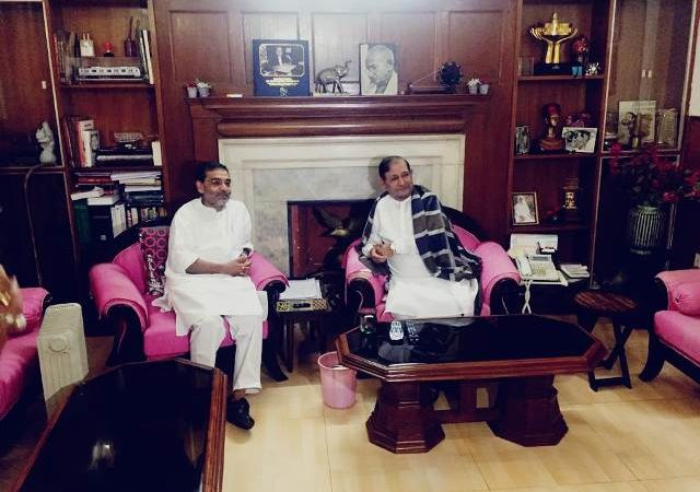 Sharad, Kushwaha could contest 2019 LS polls under one banner