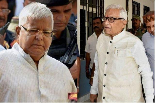Titans in troubles: CBI challenges 'lesser' punishment to Lalu, acquittal of Mishra