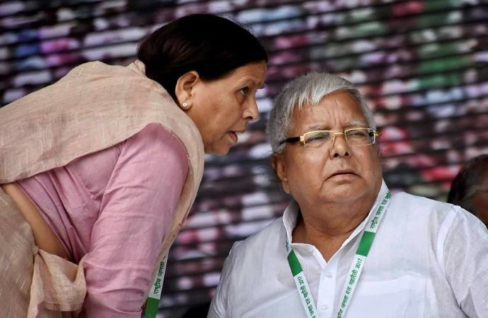 RJD mulling the option of authorising Rabri Devi to distribute tickets in Lalu's absence