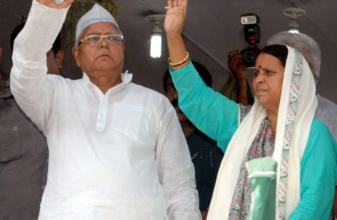 Lalu appoints wife as RJD's vice-president to run party in his absence