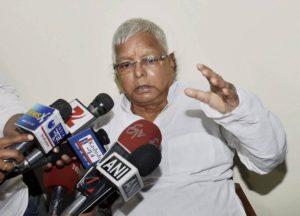 Won't sit idle until BJP thrown out of power, declares Lalu as CBI raids his premises