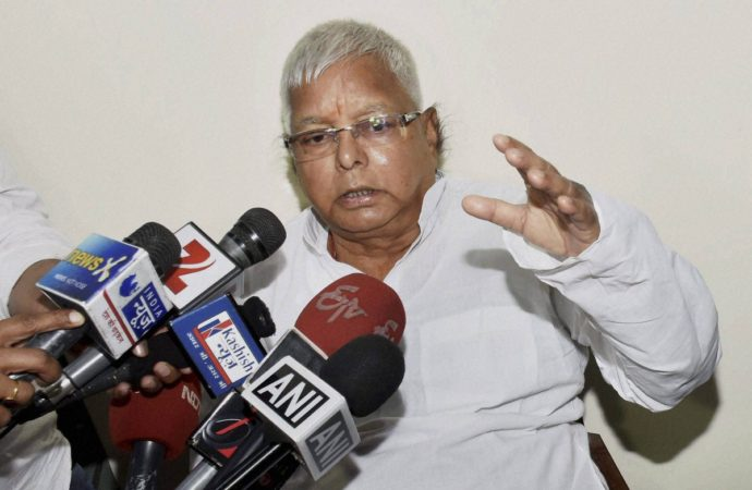 Won't sit idle until BJP thrown out of power, declares Lalu as CBI raids his premises