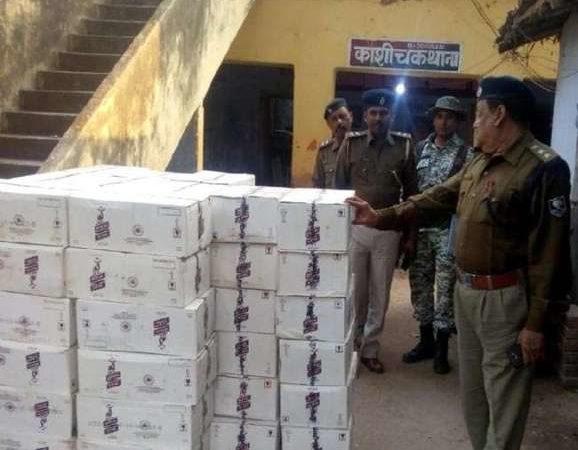 Principal arrested for storing 126 cartons of liquor in school classroom