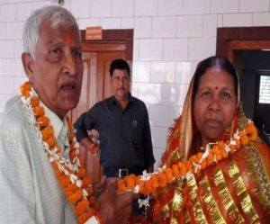 60-year-old spinster finally gets husband after 47 years of constant wait