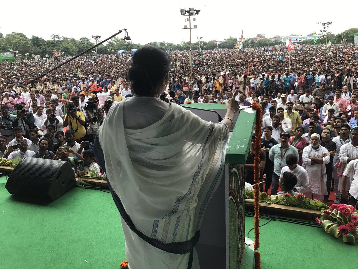 Mamata converting Bengal into 'mini Pakistan', alleges Nitish Kumar's party