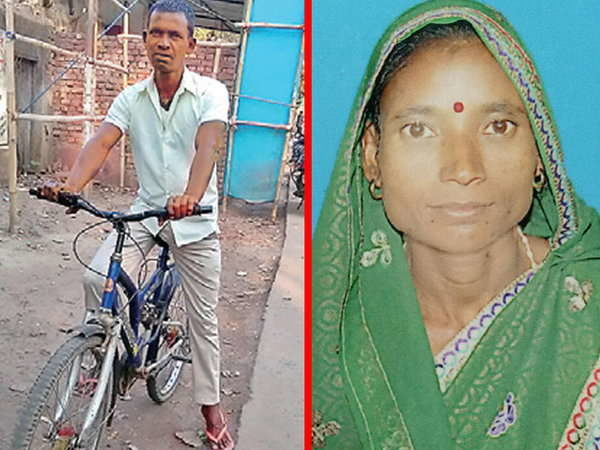 Jharkhand villager cycles 750 km in search of his missing wife