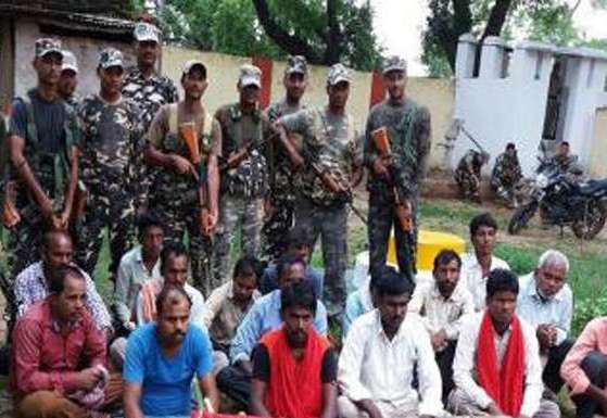 Security forces arrest 16 Maoists in Bihar after judge served 'death' threat