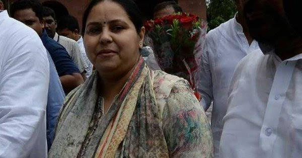 Coiling corruption: Now, ED raids three farm houses of Lalu's daughter Misa Bharti