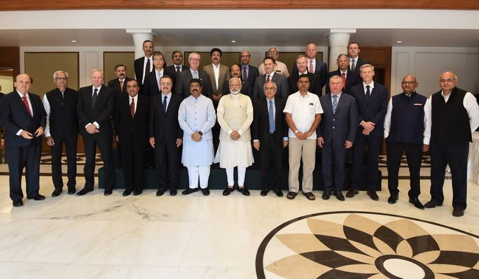 PM Modi interacts with global oil and gas CEOs and experts