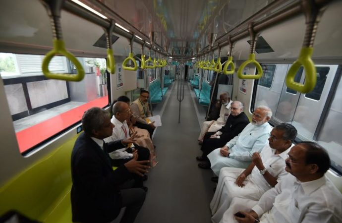 PM Narendra Modi dedicates Kochi Metro to the nation
