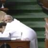 Rahul Gandhi's hug, wink in Parliament keep Twitter buzzing