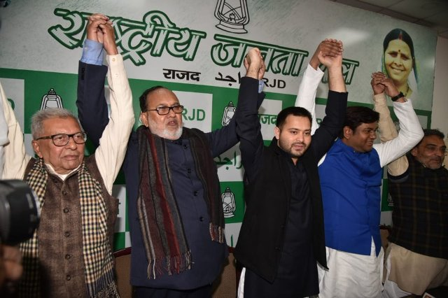 Grand Alliance partners close to sealing seat-sharing deal to counter NDA in Bihar