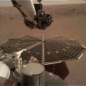 NASA InSight Lander 'hears' Martian winds