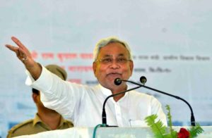 Youth throws slipper at Bihar chief minister to protest reservation, arrested