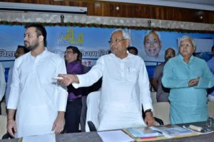 Million-dolor question: Will 'image-conscious' Nitish ask his deputy Tejashwi to resign?