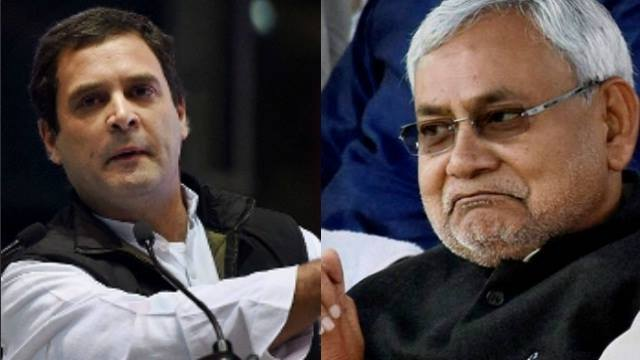 Nitish Kumar meets Rahul Gandhi, asks him not to defend 'tainted' Lalu: Media report