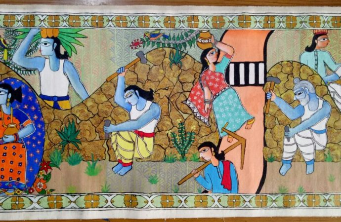 From Mahabharata to Manjhi: How this young Bihar artist paints every story with finesse!