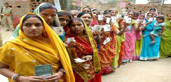 Bihar records 19 percent polling in the first phase during first four hours