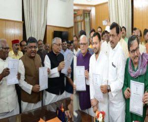 Rajya Sabha polls: All six official candidates from NDA, Grand Alliance romp home