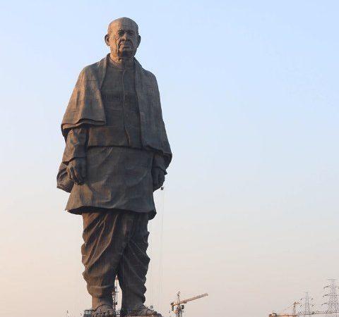 PM Modi unveils Sardar Vallabhbhai Patel's statue in Gujarat