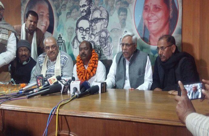 Setback for Nitish: JD-U MLA Sarfaraz Ahmad joins RJD, to contest Araria LS seat
