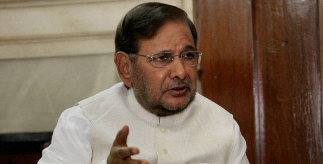 After forcing Lalu to join his company, Nitish raising the issue of corruption: Sharad Yadav