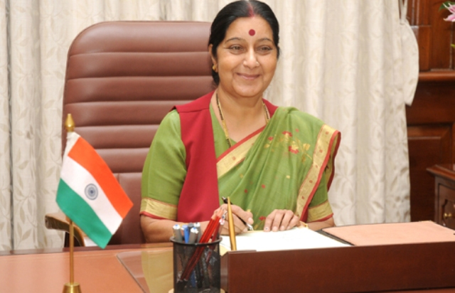 Talks and terror can't go together: Sushma on India's stand with Pakistan