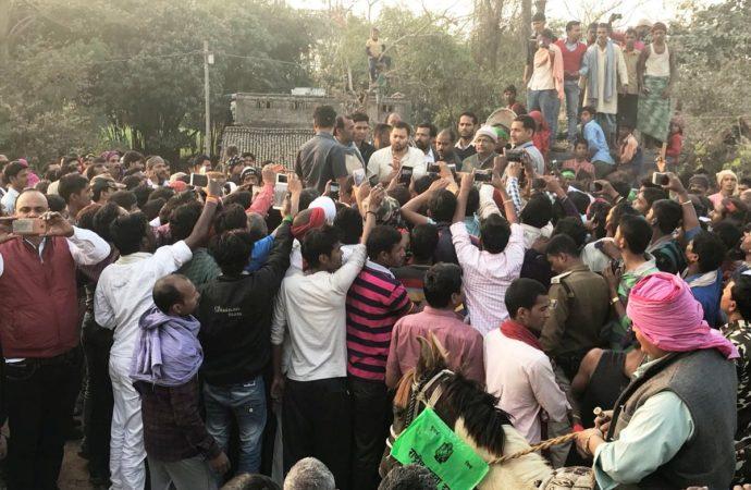 Bihar has 'trouble engine govt', says Tejashwi leading his 'nyay yatra'